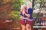 Cosplay Mukuro nana kuronoma Danganronpa Sam cosplay Junko kiss