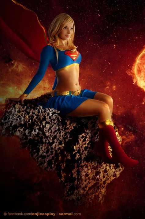 cosplay supergirl enji night