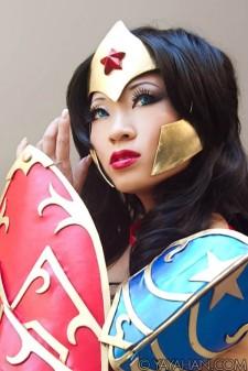 cosplay wonder woman yaya han mulher maravilha