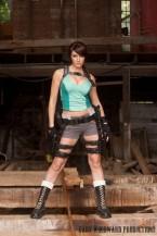 Dayna Baby Lou cosplay lara croft