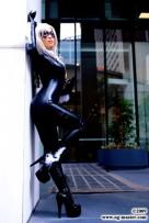 gata negra cosplay yaya han black cat