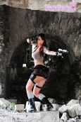 Giorgia cosplay lara croft