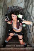 Giorgia cosplay lara croft