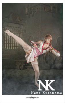 kasumi cosplay Nana Kuronoma (austria)