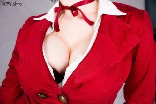 kitty honey ecchi cosplay Meiko Shiraki Prison School