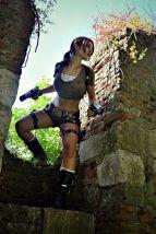 Lara Croft cosplay Eilaire sexy gostosa (Italy) (2)
