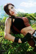 Lara Croft cosplay Elen-Mart (Russia)
