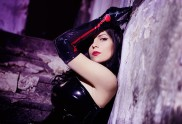 Lust cosplay Katysuka Moonfox Full Metal Alchemist