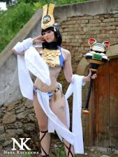 Menace queens blade cosplay Nana Kuronoma sexy gostosa (1)