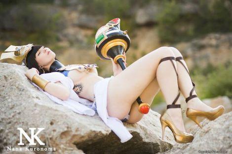 Menace queens blade cosplay Nana Kuronoma