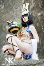 Menace queens blade cosplay Nana Kuronoma sexy gostosa (3)
