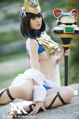 Menace queens blade cosplay Nana Kuronoma