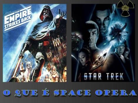 o que é space opera