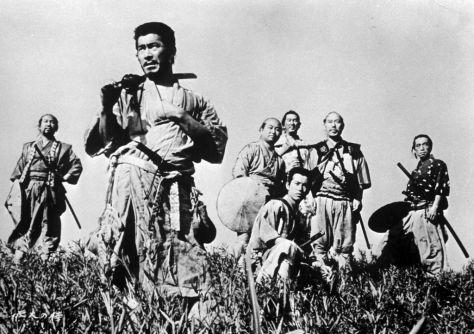 Os Sete Samurais 1954 1