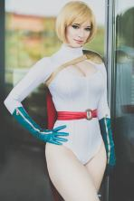 power girl cosplay enji night