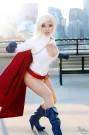 Power Girl cosplay yaya han