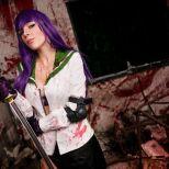 Saeko HOTD cosplay Katyuska MoonFox