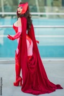 Scarlet Witch cosplay yaya han Feiticeira Escarlate cosplay