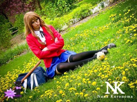 Taiga cosplay Nana Kuronoma