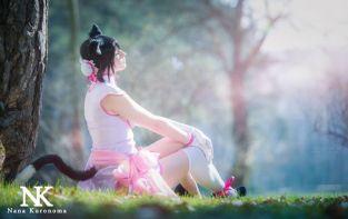 Xian-Mei Shining Hearts cosplay Nana Kuronoma gostosa sexy (2)