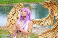 Yaya Han athena cosplay saint seiya cavaleiros do zodiaco