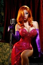 yaya han cosplay Jessica Rabbit