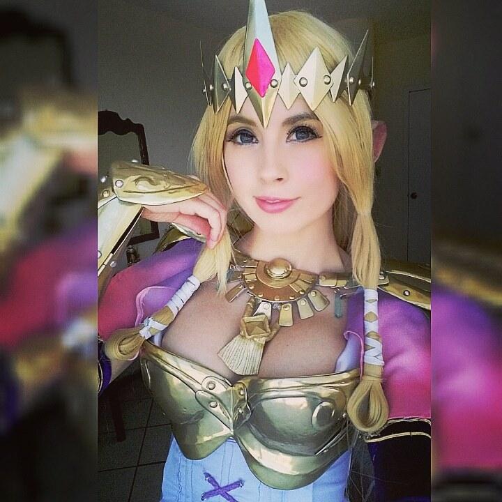Azulette (Mexicana) Rainha Zelda Hyrule Warrrios