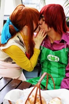clannad cosplay sanae Meari-chan boyfriend Rhyan
