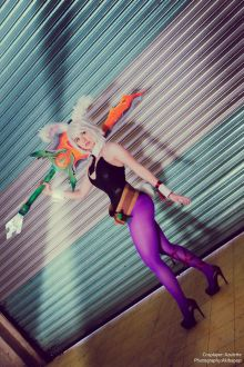 Cosplay Battle Bunny Riven sexy Azulette
