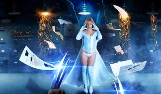 Cosplay Emma Frost Lady Jaded sexy