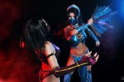 Cosplay Kitana sexy Nemu013 Mileena cosplay sexy AsherWarr gostosa
