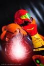 YukiLefay (Brasil) cosplay Samus Aran Power Suit (Metroid)