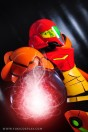 YukiLefay (Brasil) cosplay Samus Aran Power Suit (Metroid)