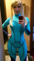 enji night samus cosplay metroid