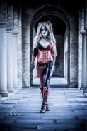 harley quinn cosplay sexy lady jaded