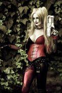 harley quinn cosplay sexy lady jaded