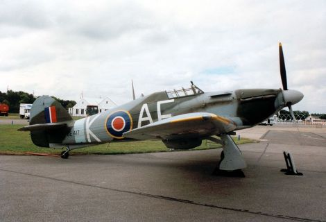 "Hawker Hurricanes - ""O Cavalo de Batalha"" Britânico"