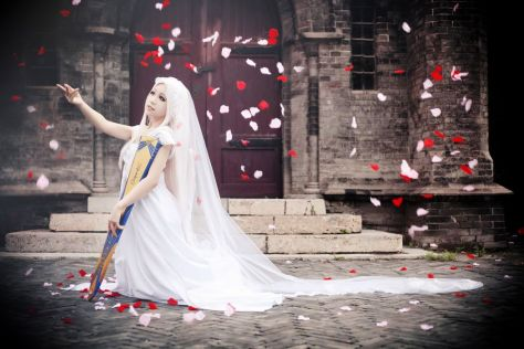 Irisviel cosplay fate Sakina666 (1)