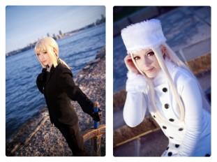 Irisviel cosplay fate zero saber cosplay GundamFamiglia Irisviel Nadleeh Saber Madara