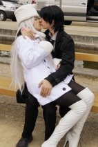 Irisviel Cosplay Lini-Lehita her Boyfriend Kiritsugu Emiya cosplay Fate Zero