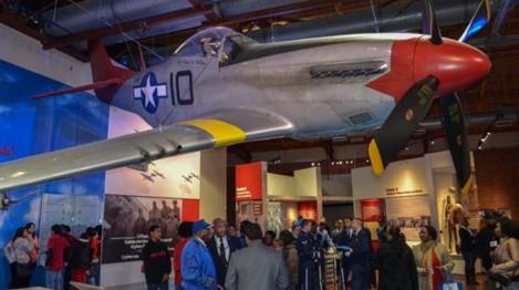 P-51 Mustang um dos caças utilizados pelo Tuskegee Airmen