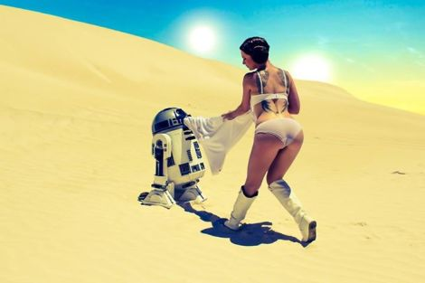princesa leia cosplay sexy lady jaded