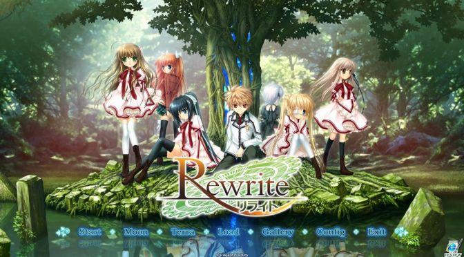 Rewrite: Anime dos mesmos autores de Charlotte e Angel Beats é Confirmado – Veja Vídeo Oficial!