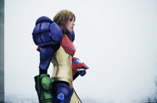 Cosplayer PixelNinja Samus Power Suit (Metroid)