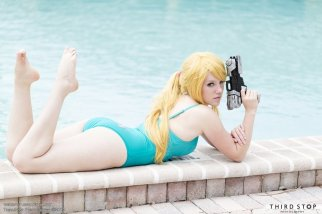 Samus Aran (Metroid) bikini Cosplay por TheBird-TheBee