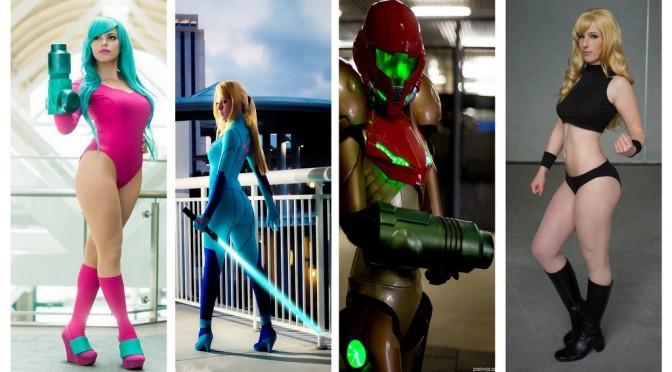 Samus (Metroid) Cosplay – Gata da Semana Especial