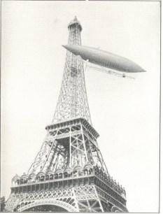 Santos Dumont dirigível nº 5 1891