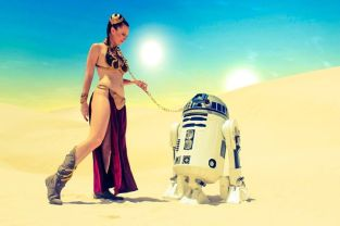 slave leia cosplay sexy lady jaded