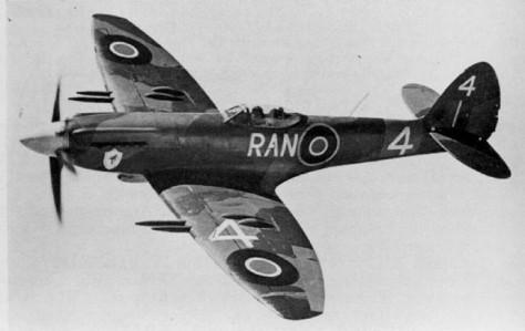Spitfire - Um dos melhores caças britânicos na época
