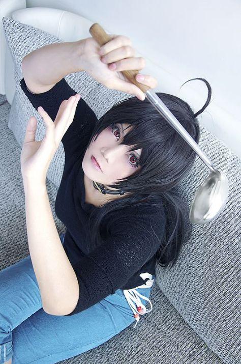 Touka chuunibyou cosplay Inushio